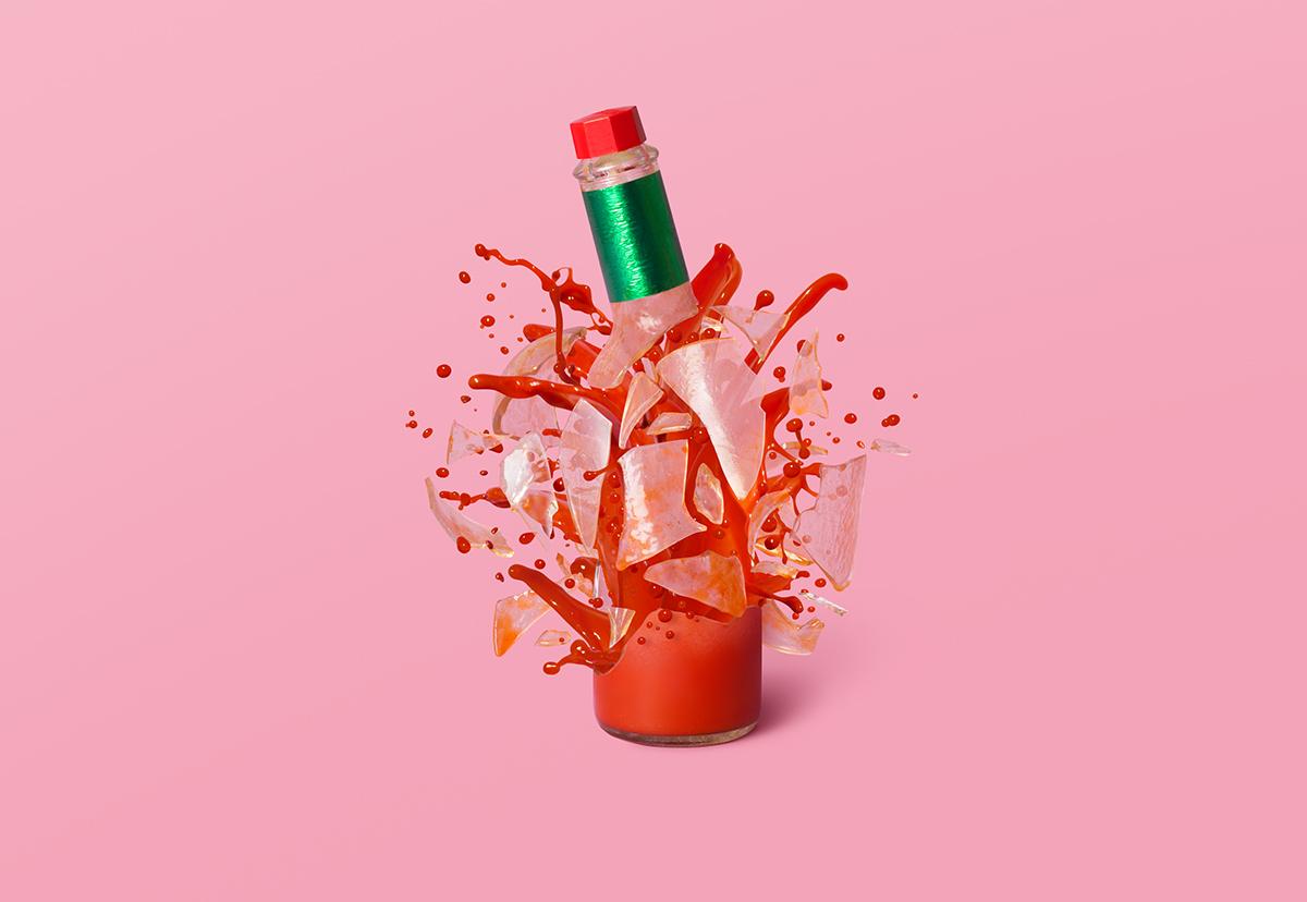 Adobe Portfolio Food  Mexican revolution ArtDirection photo