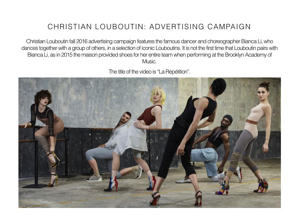 Visual Merchandising Report Christian Louboutin On Behance