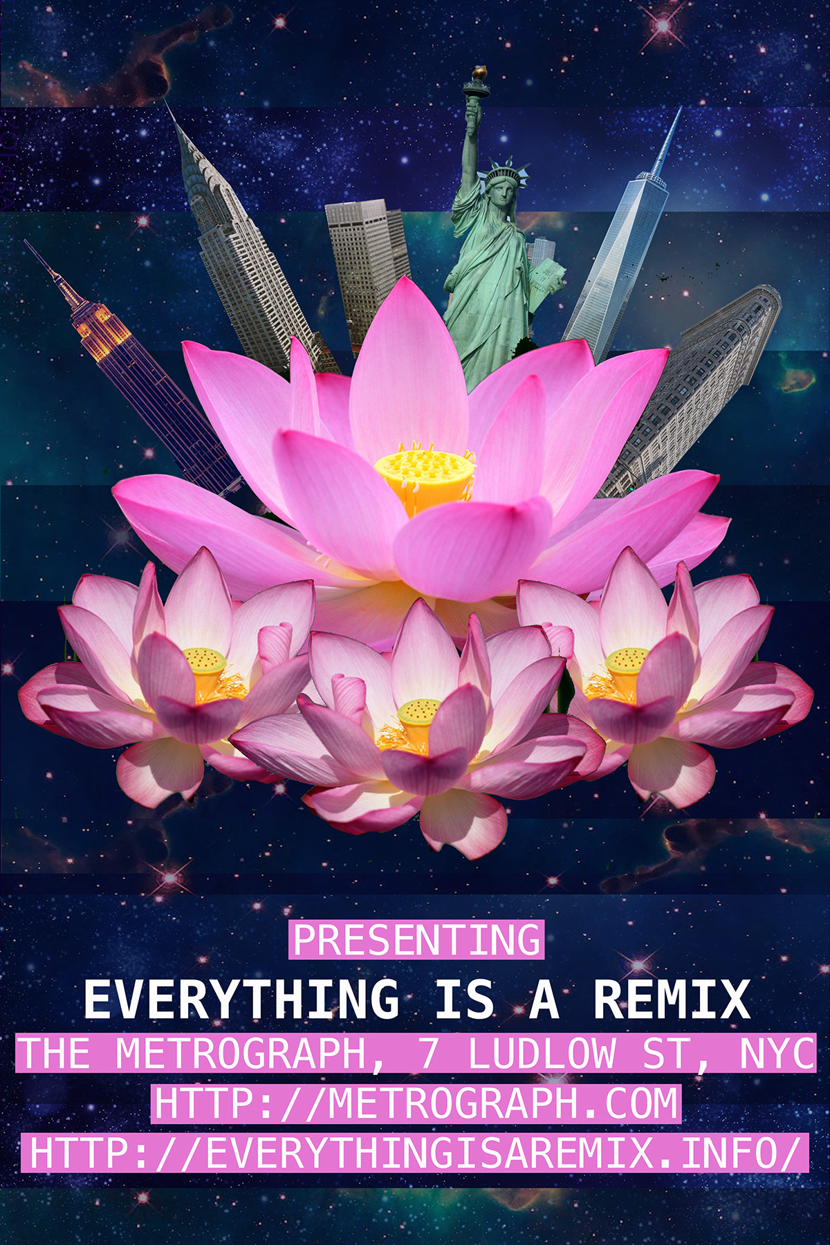 Everything is a remix poster on behance mightylinksfo