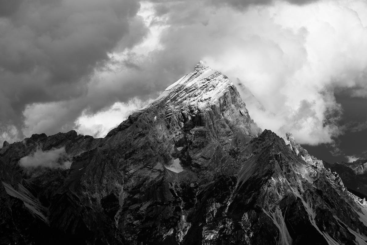 mountains Belluno dolomites rock black cloud mist trentino south tyrol White Nature alps Landscape