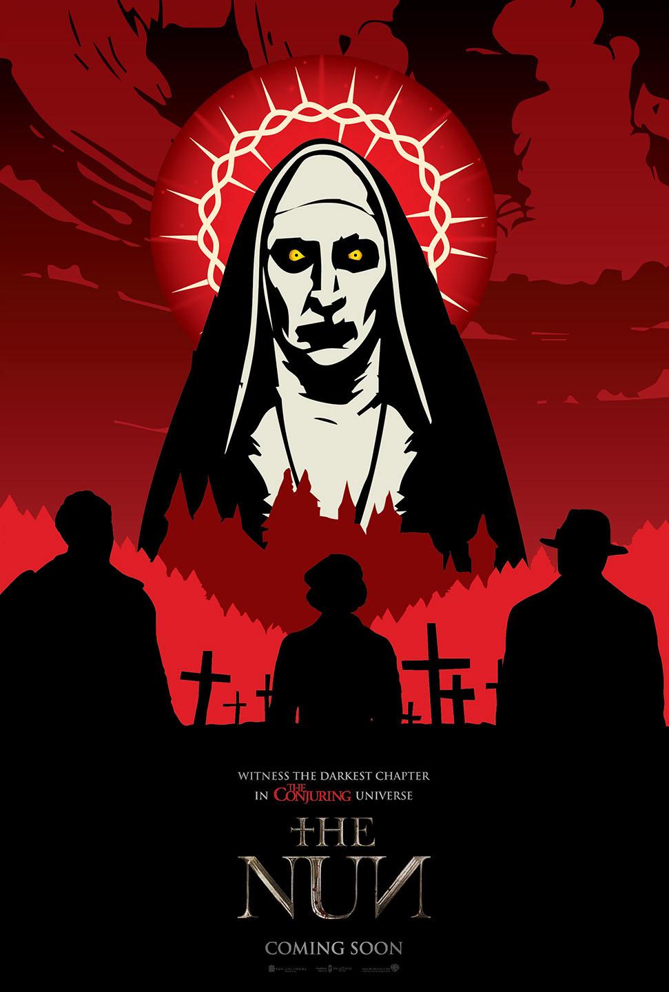 The Nun 2018 Alternative Movie Poster On Behance
