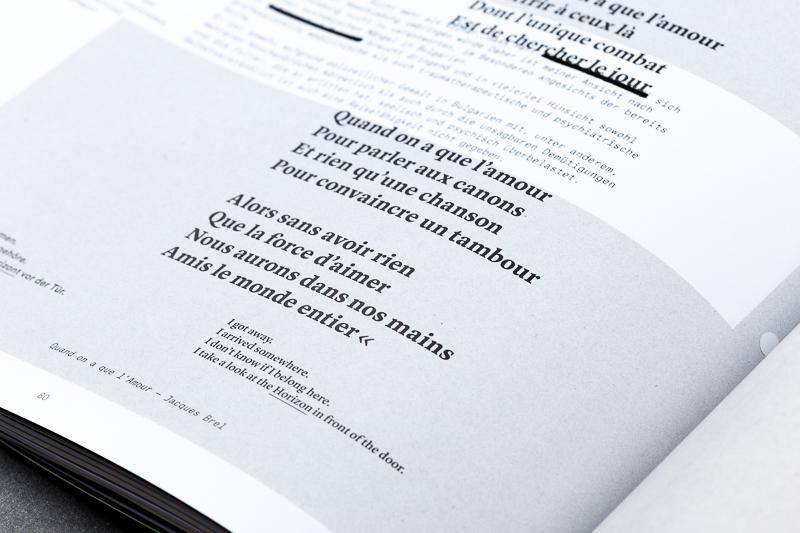magazine akademische mitteilungen am-xx editorial horizon conceptual print