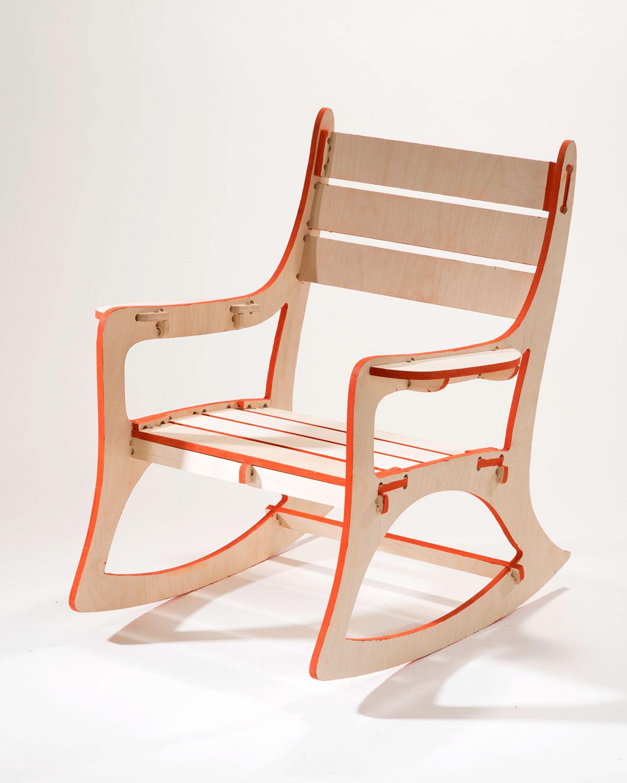 Cnc Rocking Chair On Risd Portfolios