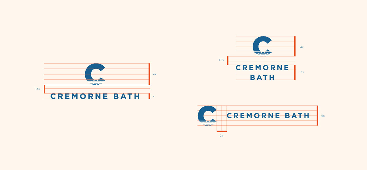 Cremorne Bath: Brand Guidelines on Student Show