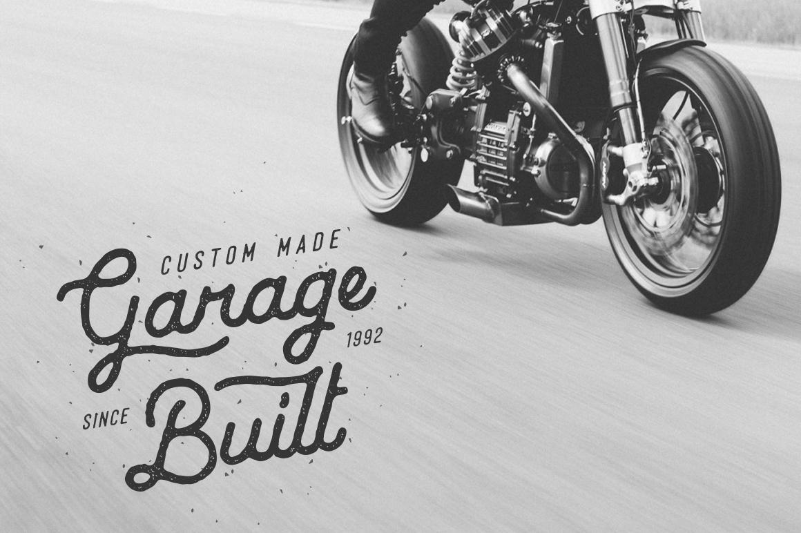 Vintage Typeface 59