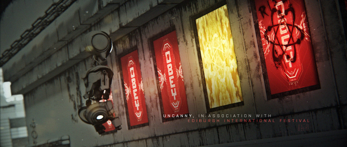 sci-fi London title sequence