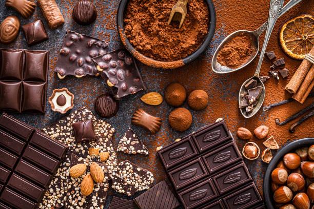 chocolate healthy chocolate sugar-free chocolate