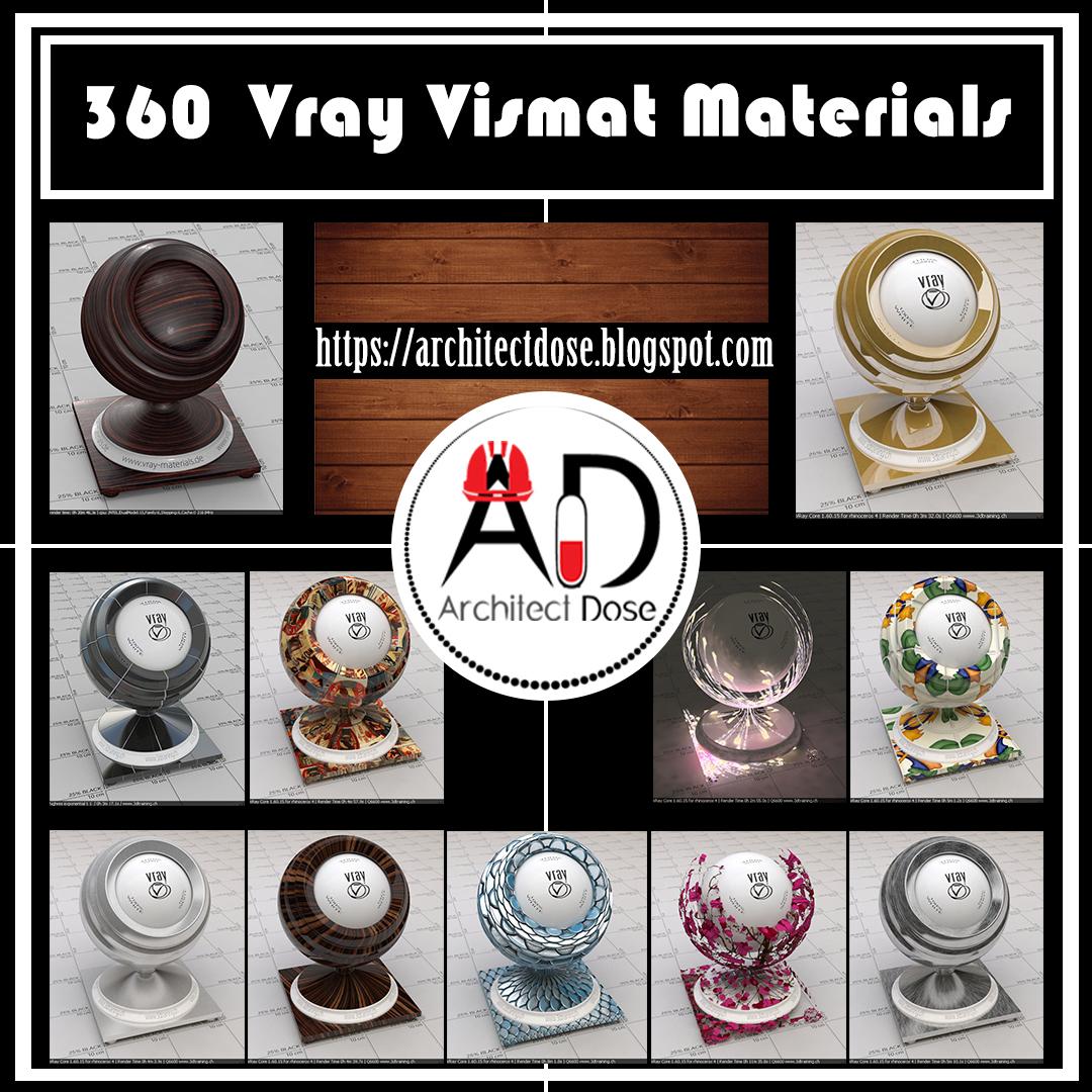 360 Vismat Vray Materials on Behance