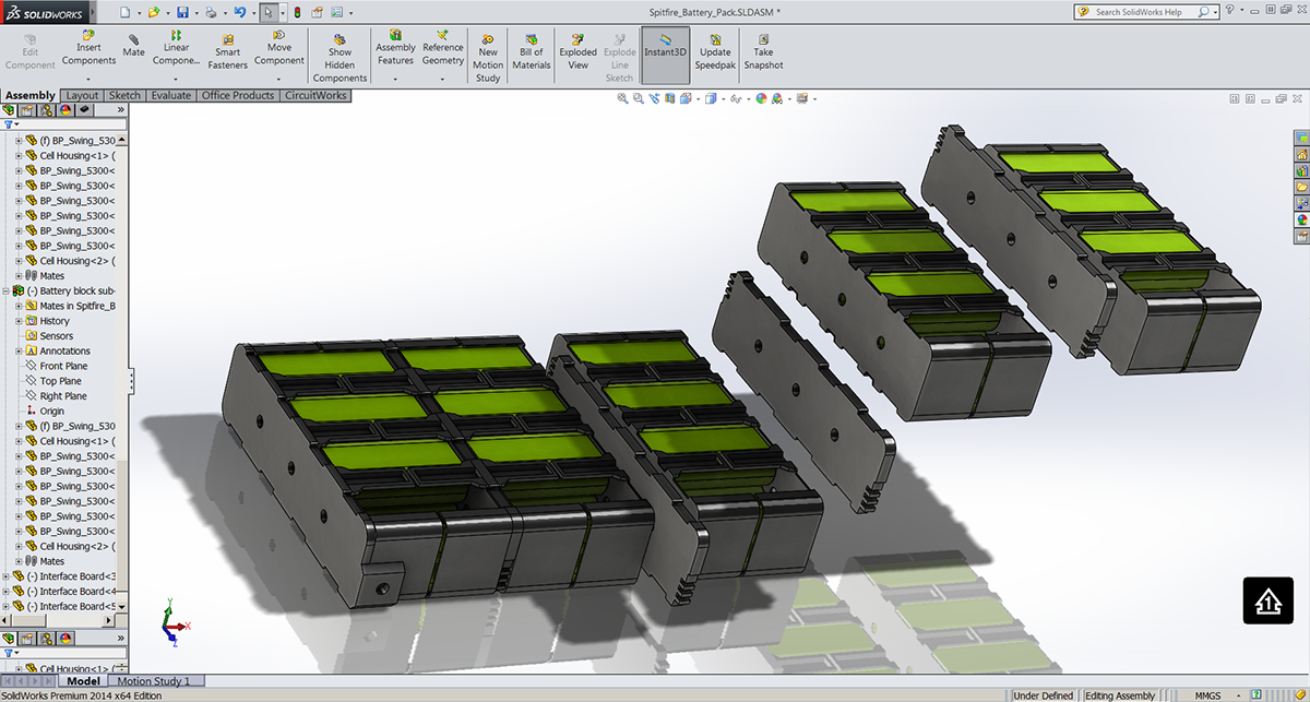 Advanced Solar Electric Vehicle Battery Pack Design on Student Show
