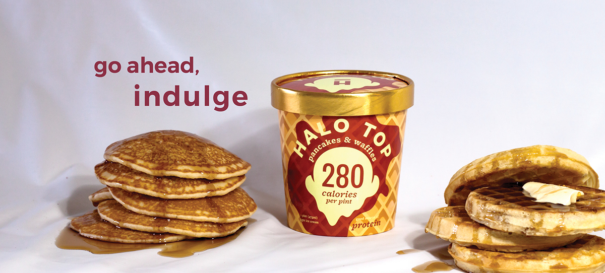 halo top billboard advertising on behance