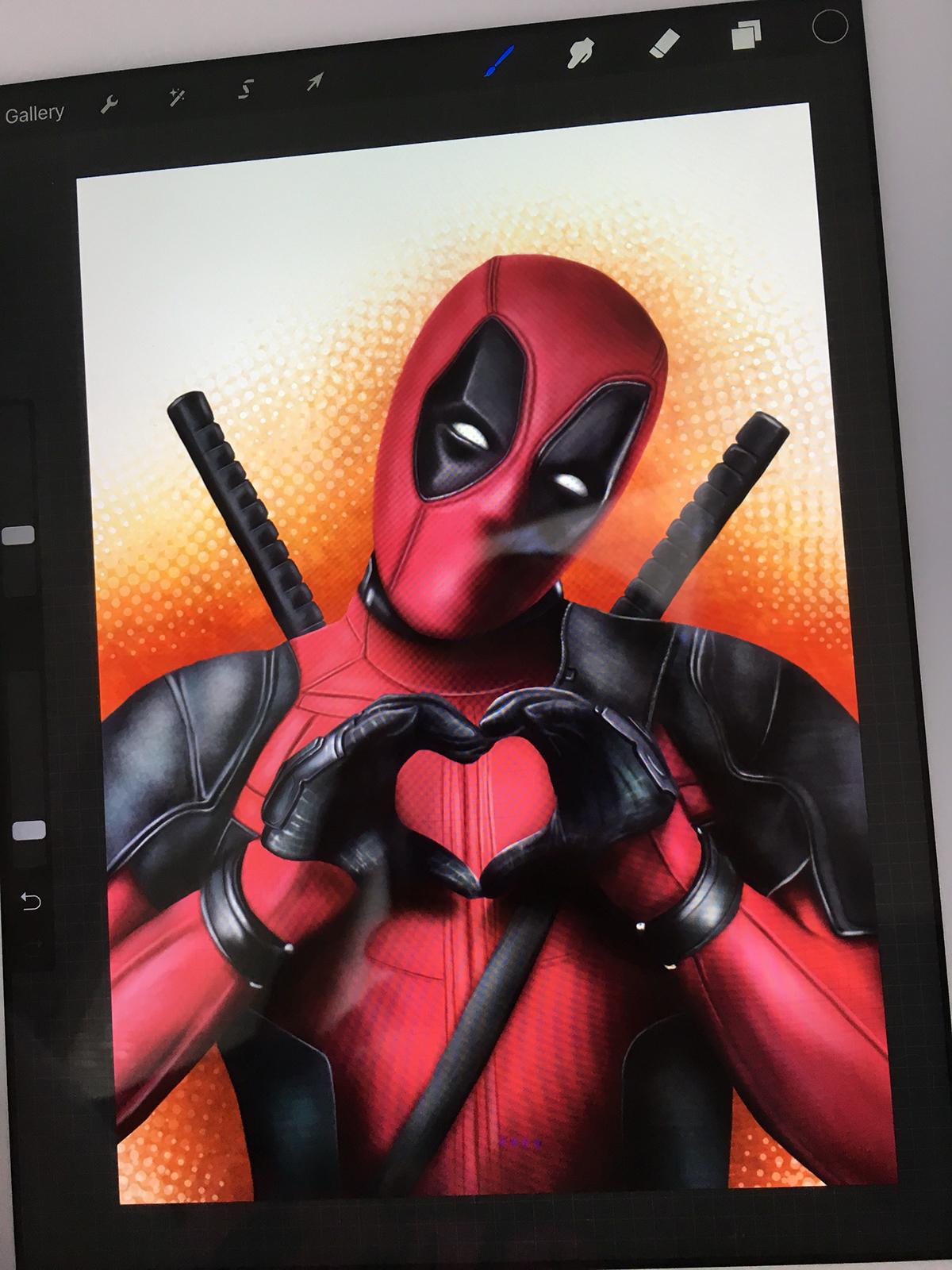 deadpool iPad