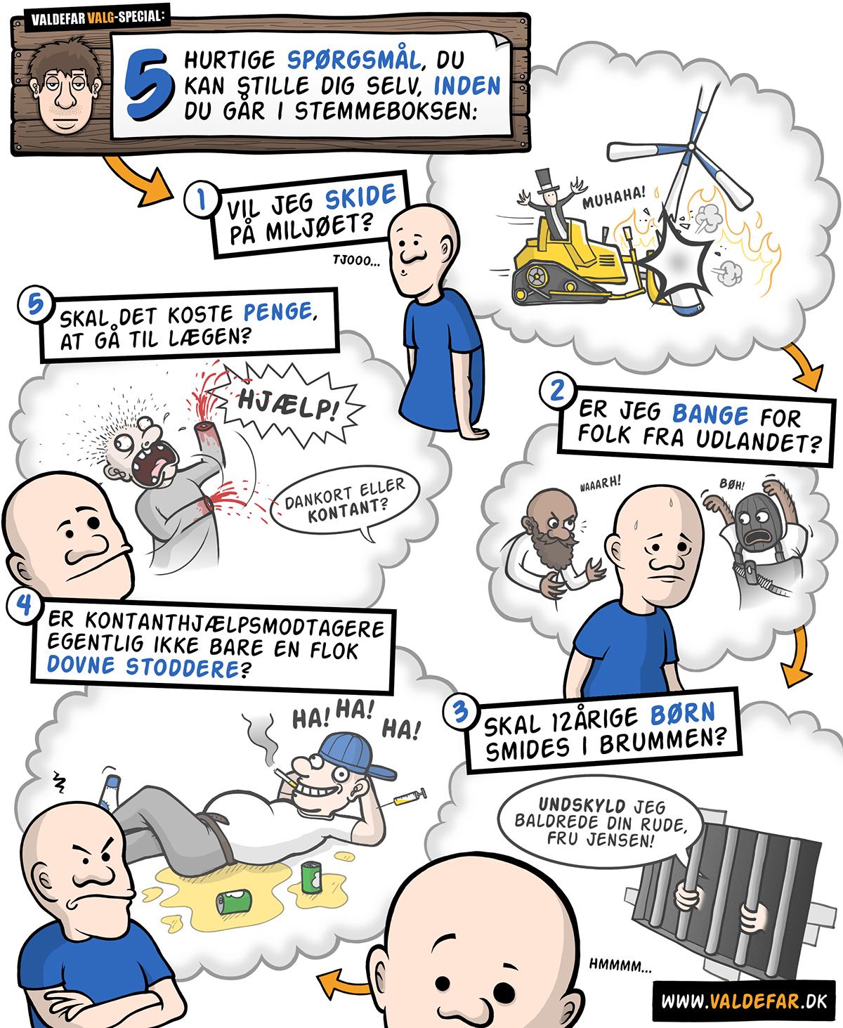Webcomic Valdefar Valdefardk cartoon comic Blog