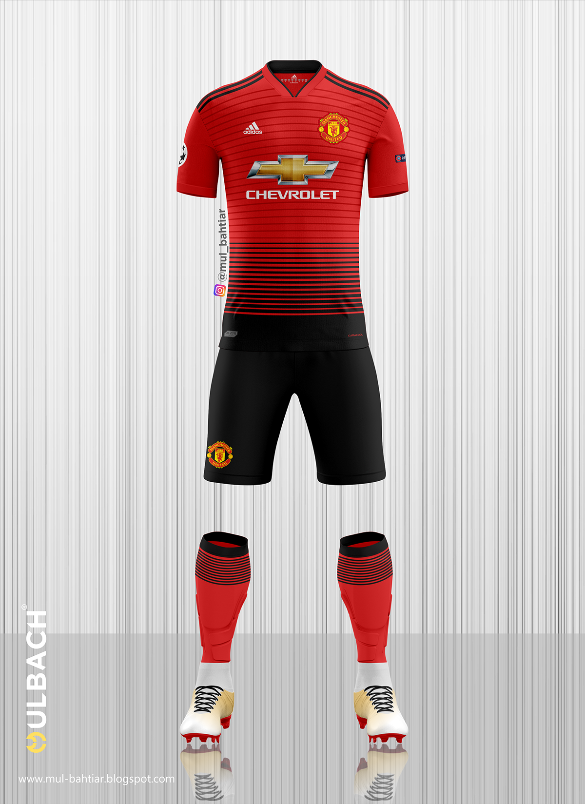 70055d50b00 Manchester United 2018 2019 Kits on Behance