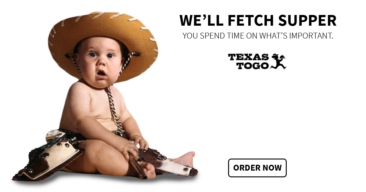 Ad Design Campaign- Texas ToGo food delivery on Behance