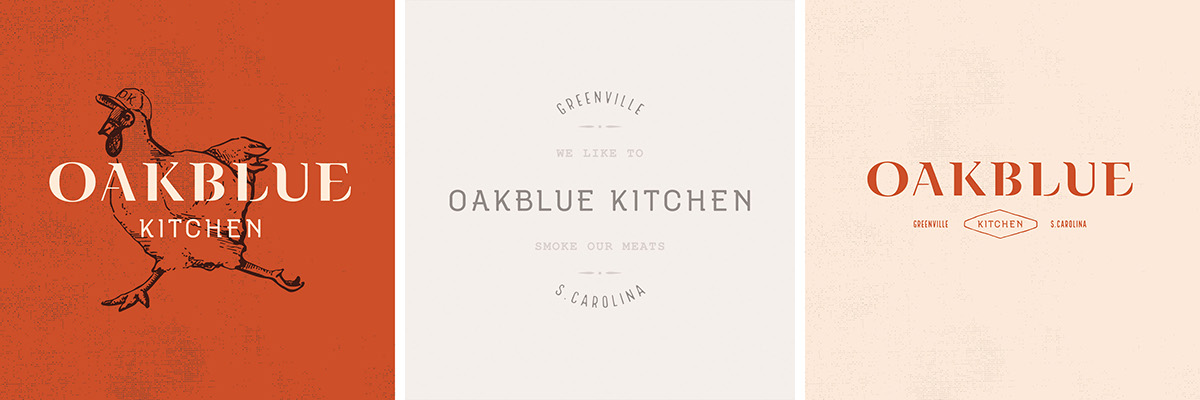 Oakblue Kitchen Menu