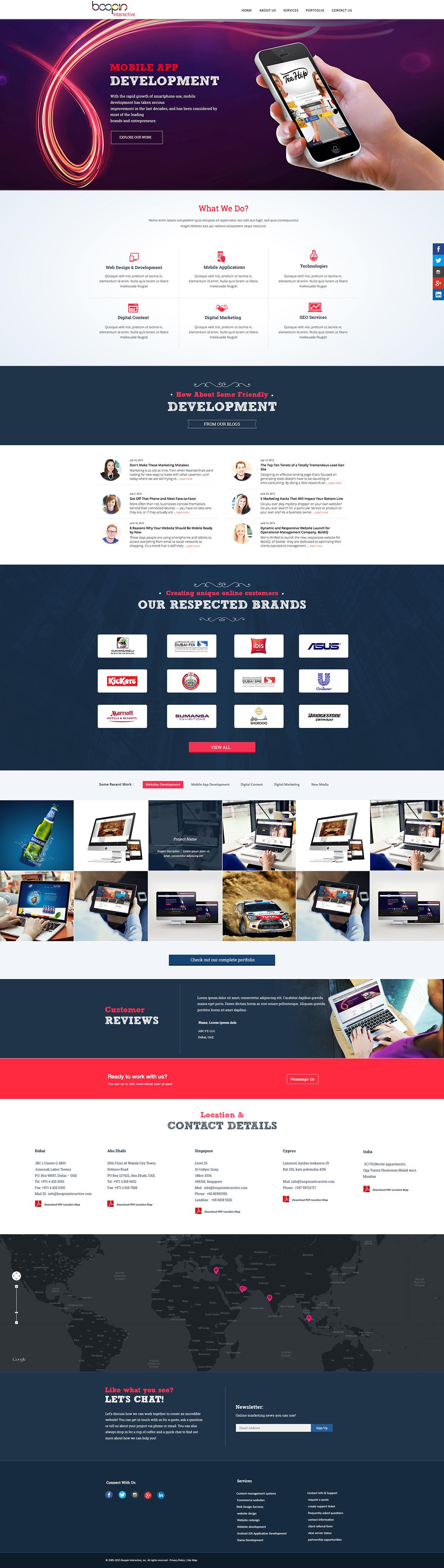 ui design simple design Clean Design dubai Advertising Agency in web ui designer vijith online vijithonline