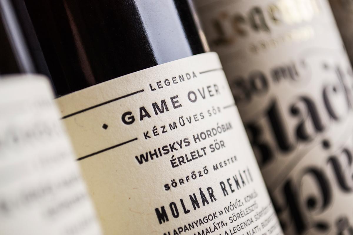 RENATO sopron AMI lettering typo graphic design beer craftbeer labels