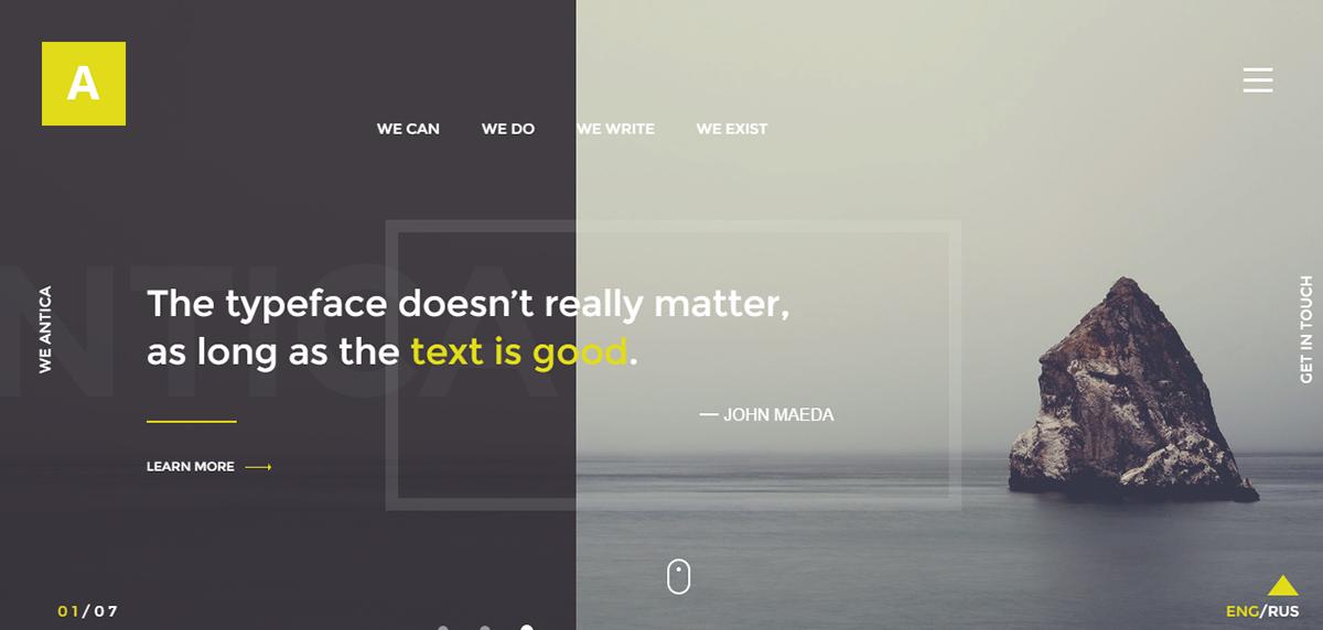 HTML Template wordpress