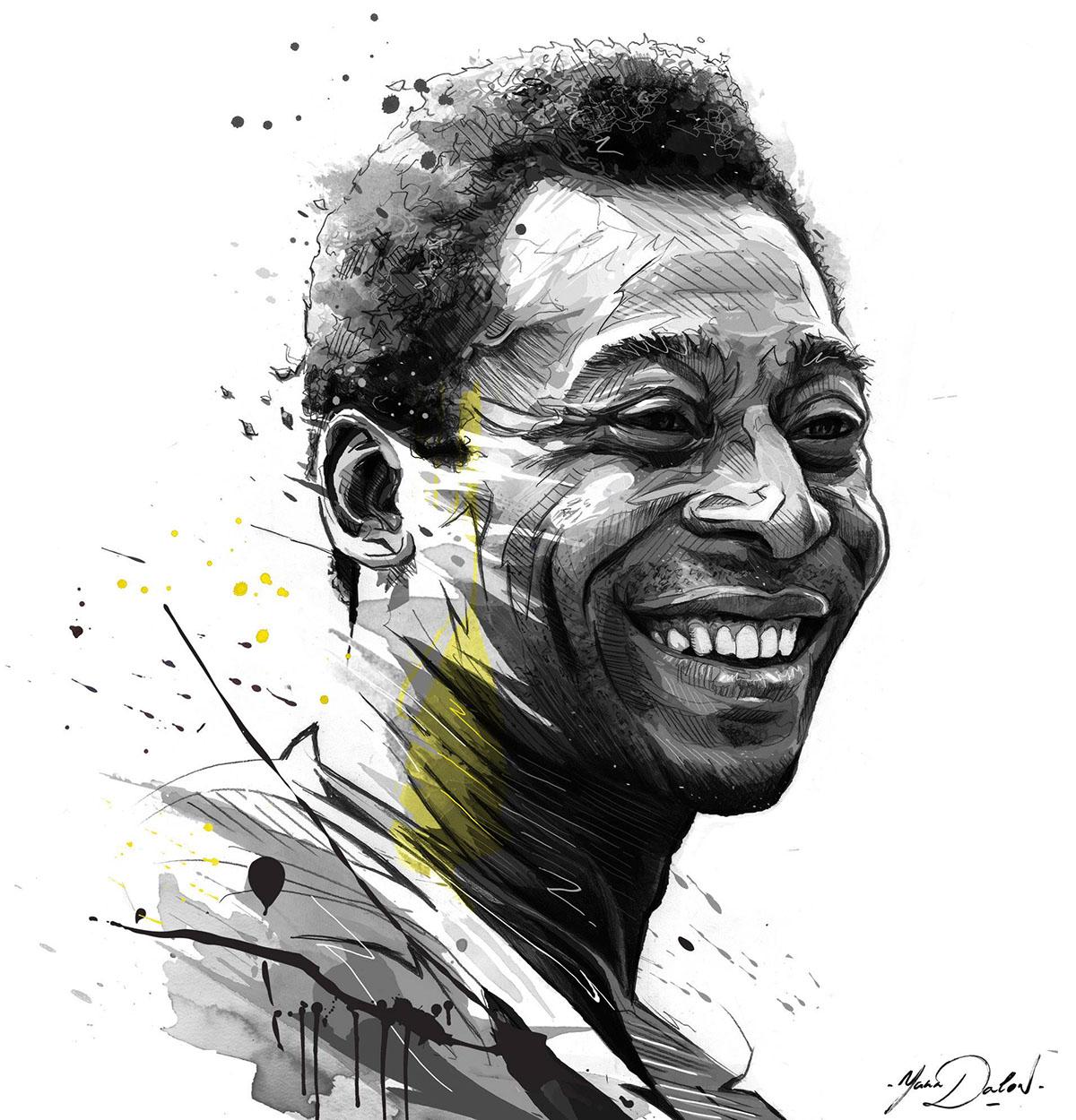 ESPN Pelé on Behance