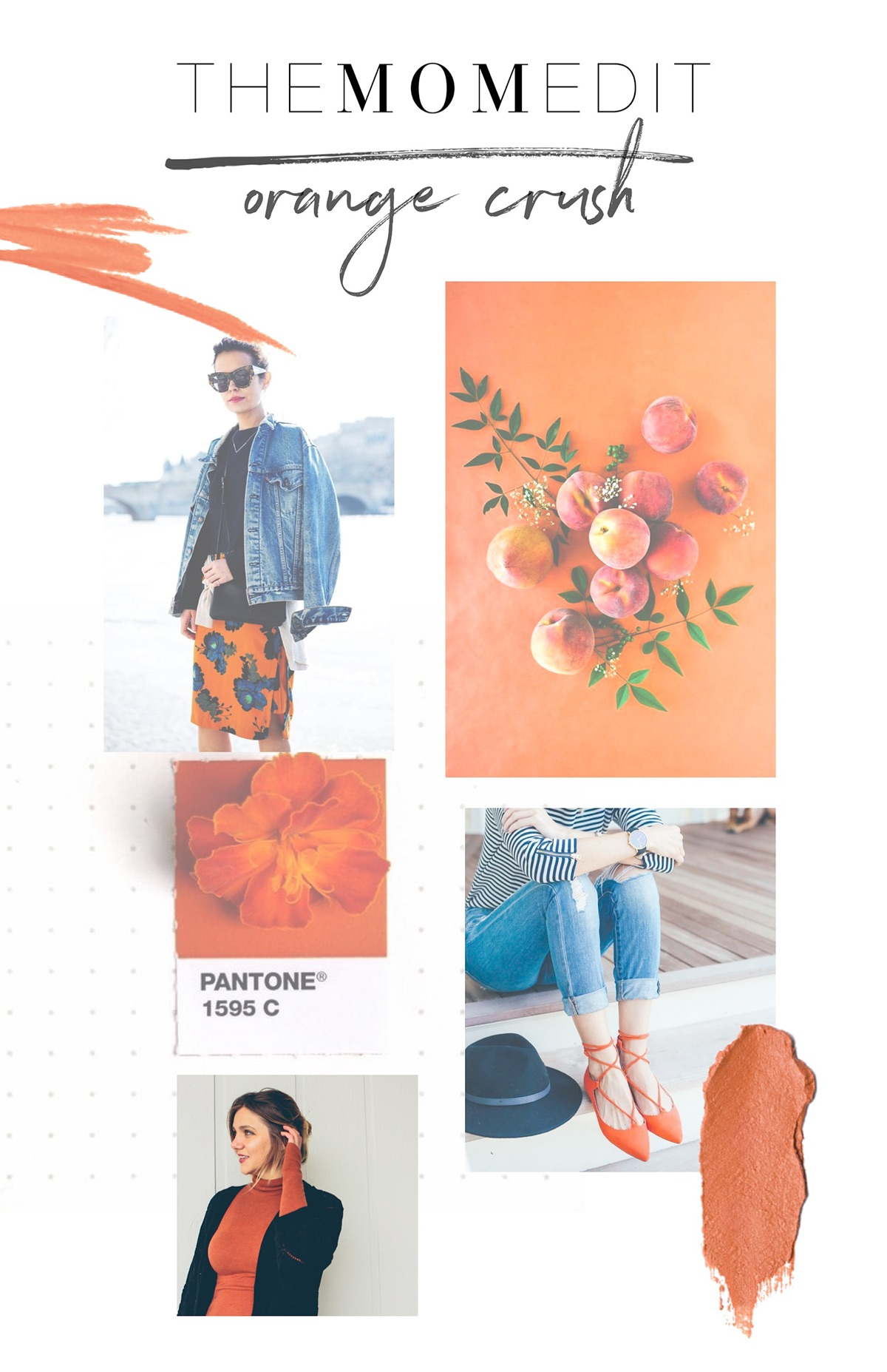 Blog Newsletter Fashion Editorial Moodboard Color On Behance