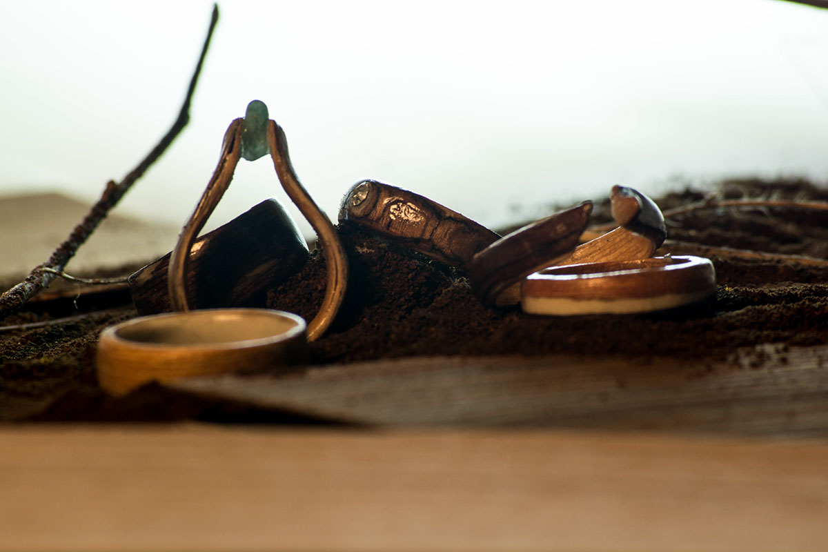 bentwood contemporary jewelry