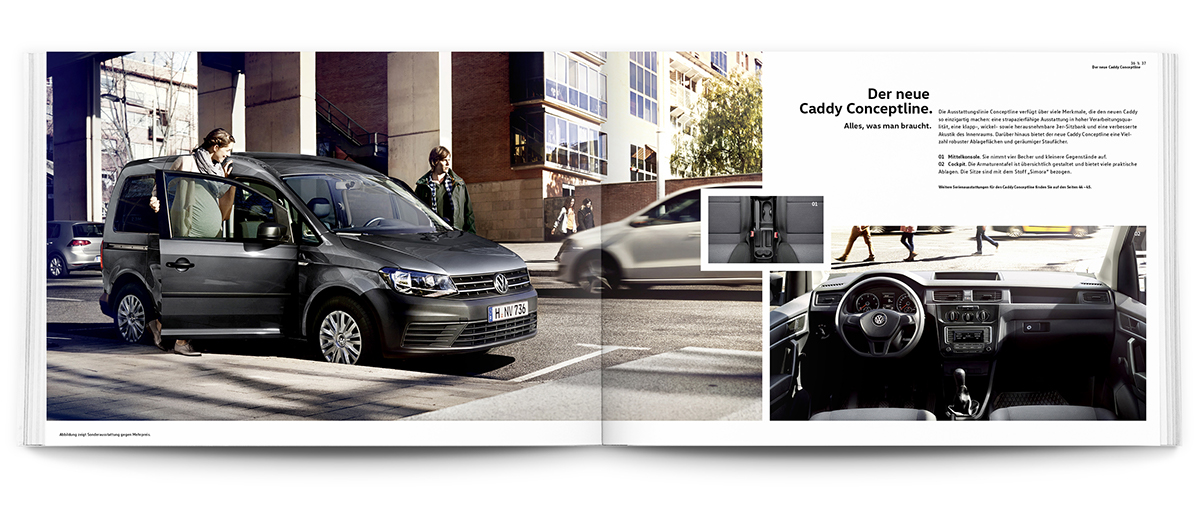 Volkswagen - The new Caddy on Behance