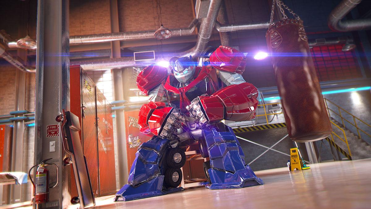 Transformers battlemasters battle Arena fight robots bots 3D CG Character junkyard