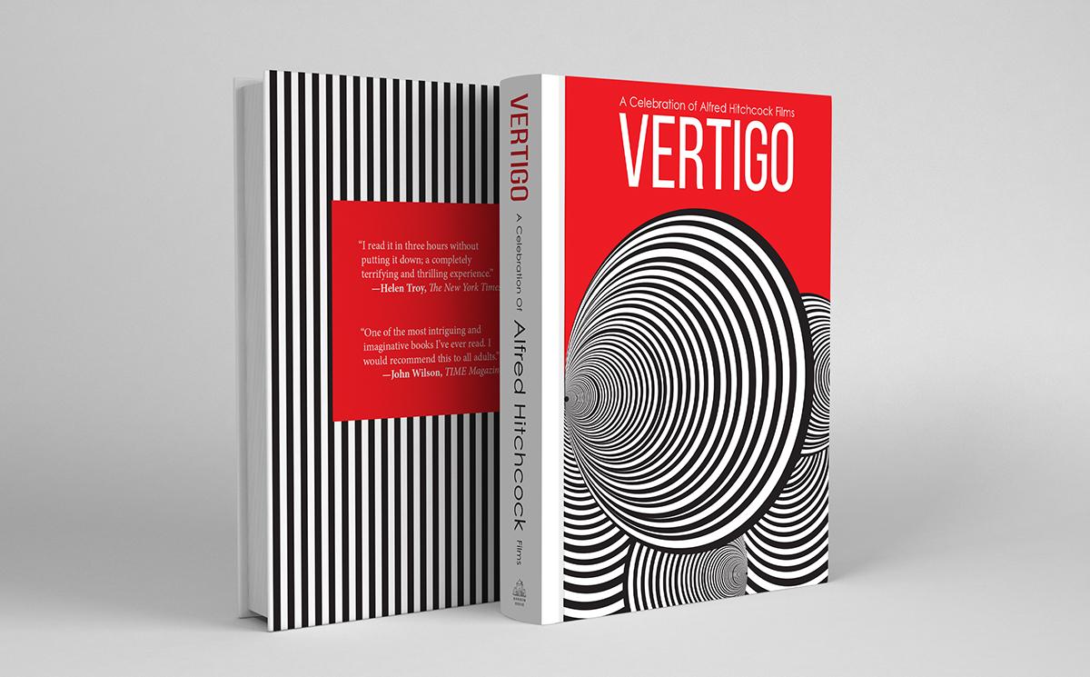 Alfred Hitchcock Book Cover on SVA Portfolios
