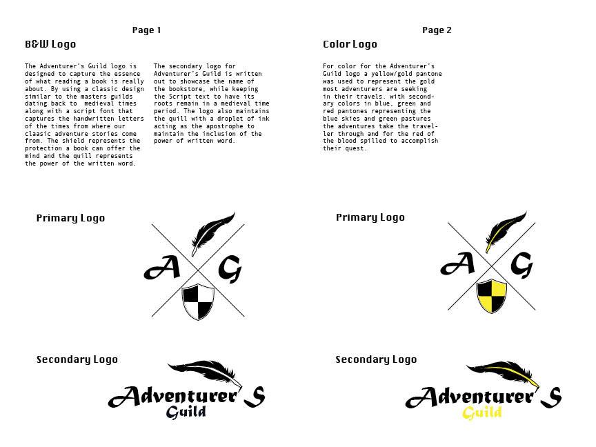 Harry latchford adventurers guild stationary booklet for stationary items altavistaventures Choice Image