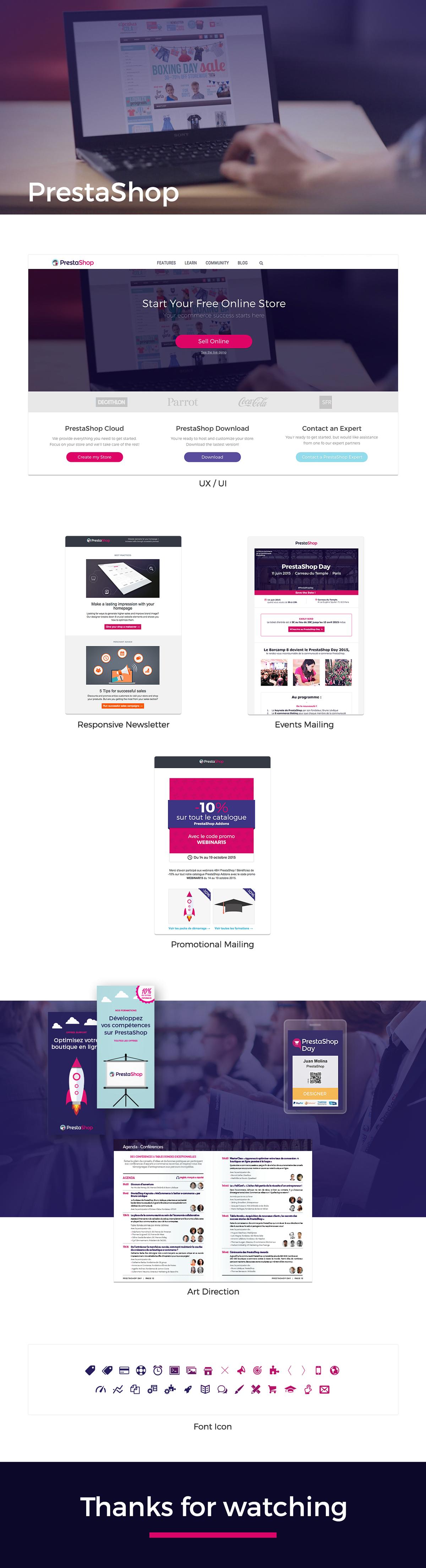 Website mail brochure
