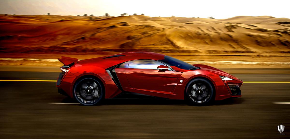 Lykan Hypersport Furious 7 On Behance