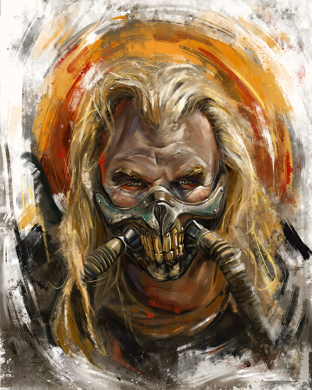 Immortan Joe Ohne Maske