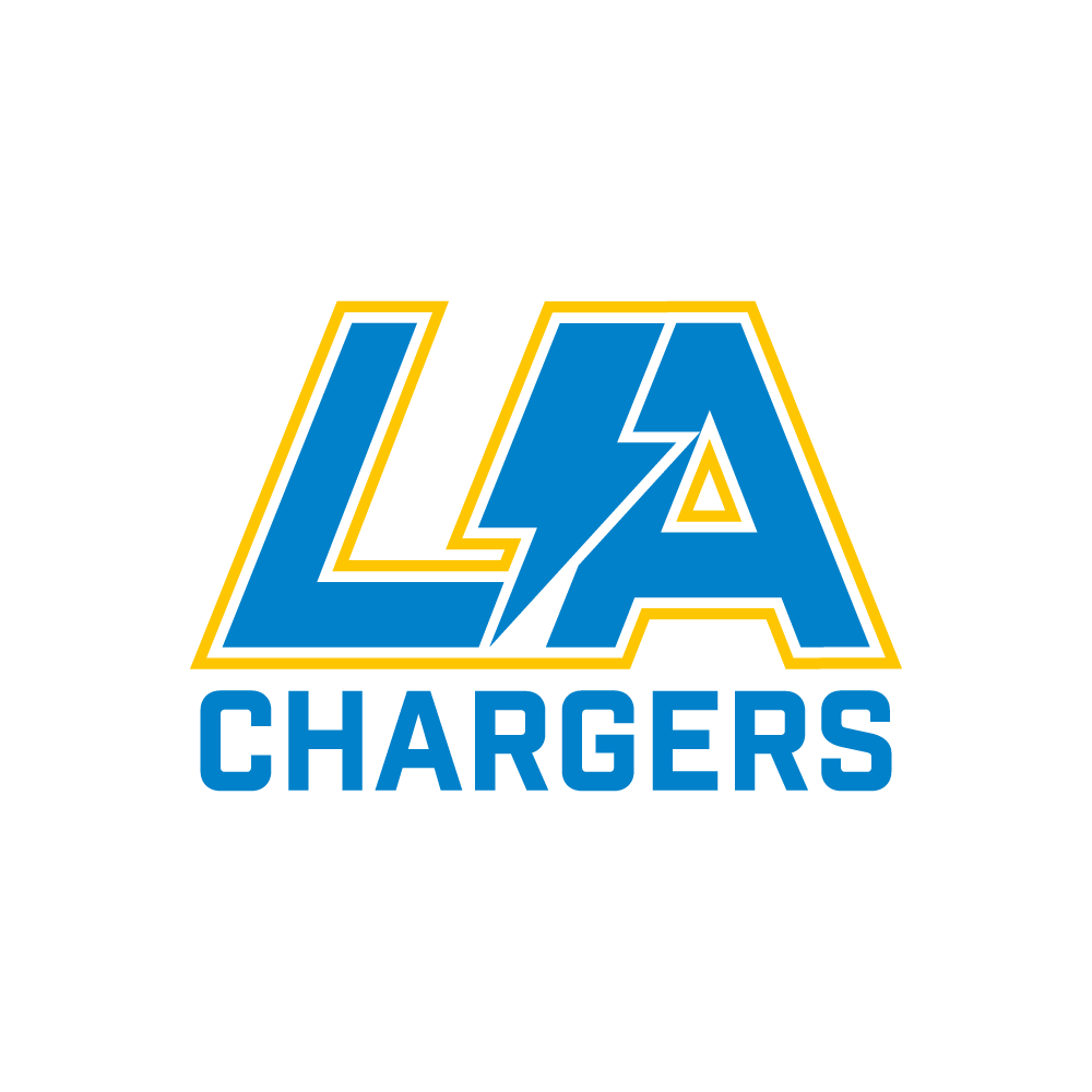 Los angeles chargers concept logo on behance Logo designers los angeles
