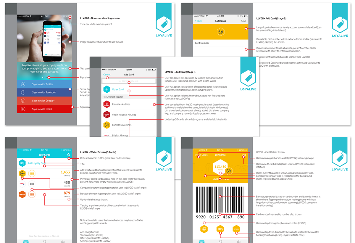 how to build a loyalty card app