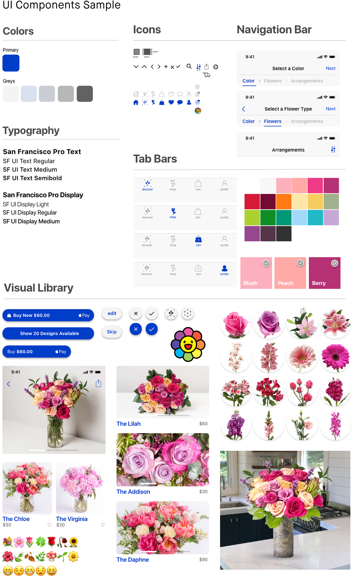 adobexd,user interface,user experience,design,design strategy,Ecommerce,Flowers,checkout,delivery,UI/UX