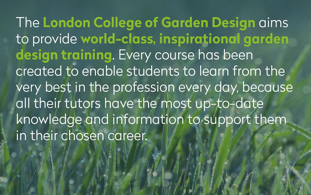 London College Of Garden Design Rebrand On Behance