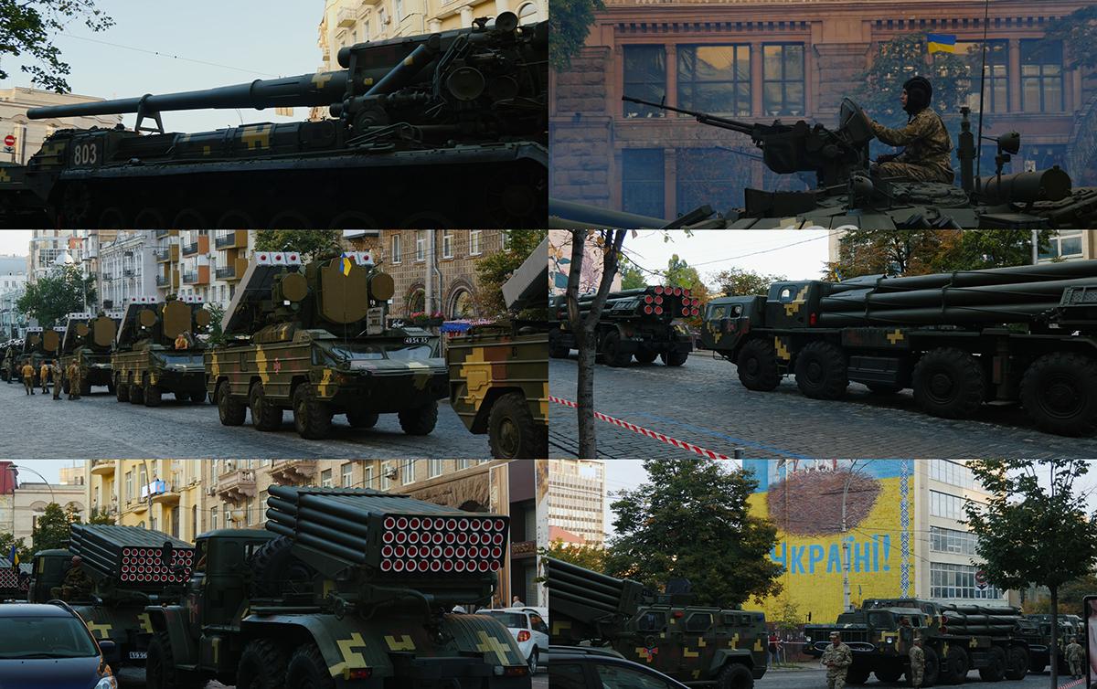 Independence revolution freedom ukraine Kyiv parade maidan histibe Generdyn trailer music
