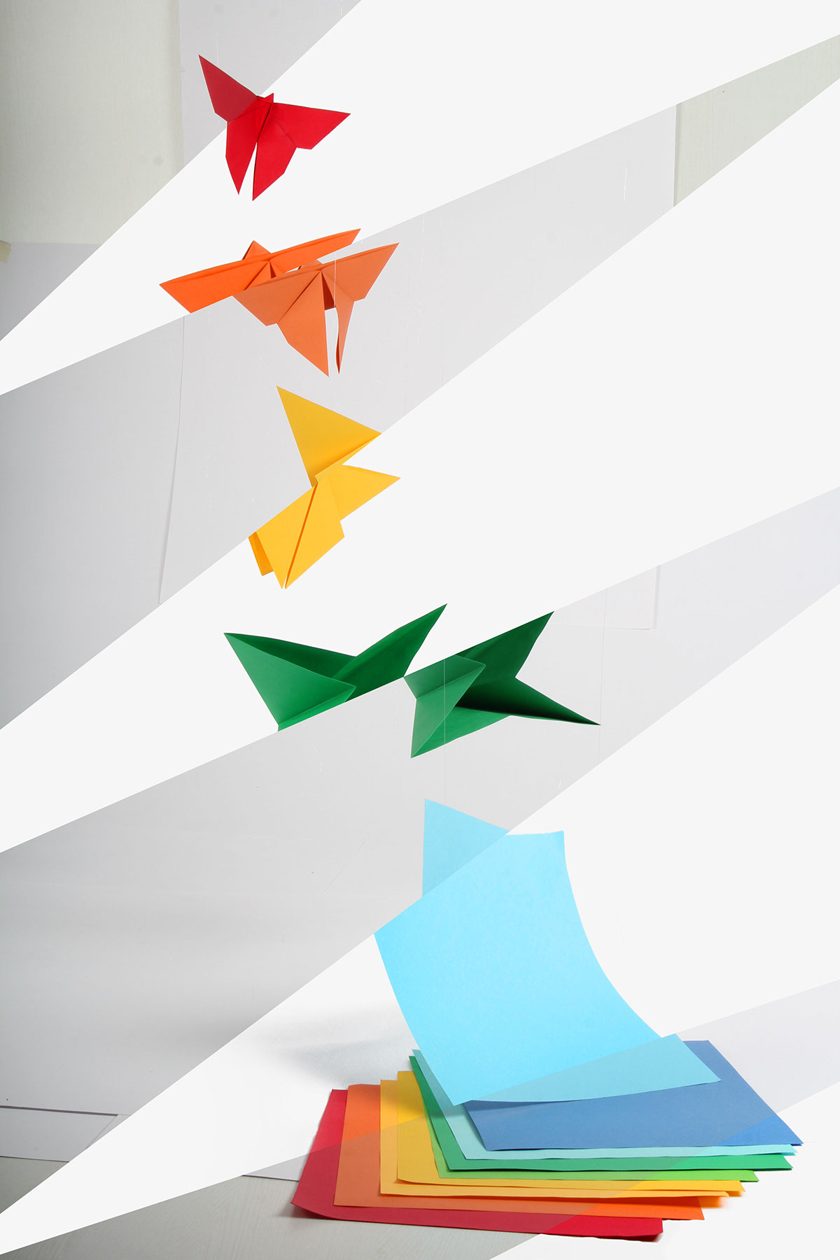 Toyo origami papers product photography on behance final poster concept jeuxipadfo Images