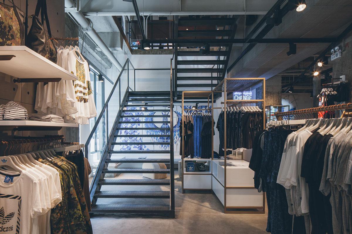Hypebeast | adidas Originals Shanghai Flagship Store on Behance
