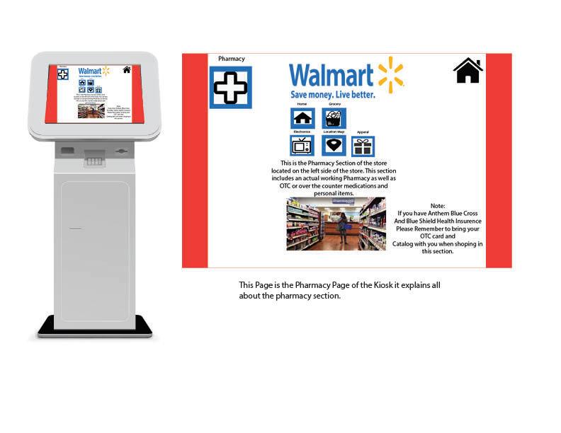 Walmart Kiosk Design for Class DES240 on Behance