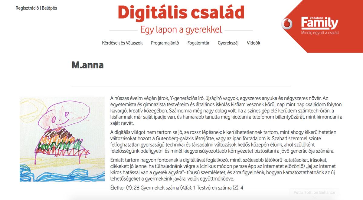 magazin online Website digital parenting Internet safety journalism