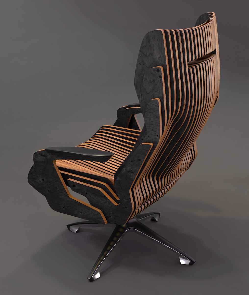 parametric chair,chair,creative chair,parametric concept,concept chair