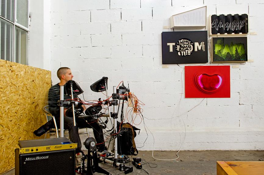drums Workshop thype Arduino laser cutting Fablab Torino  Prototyping