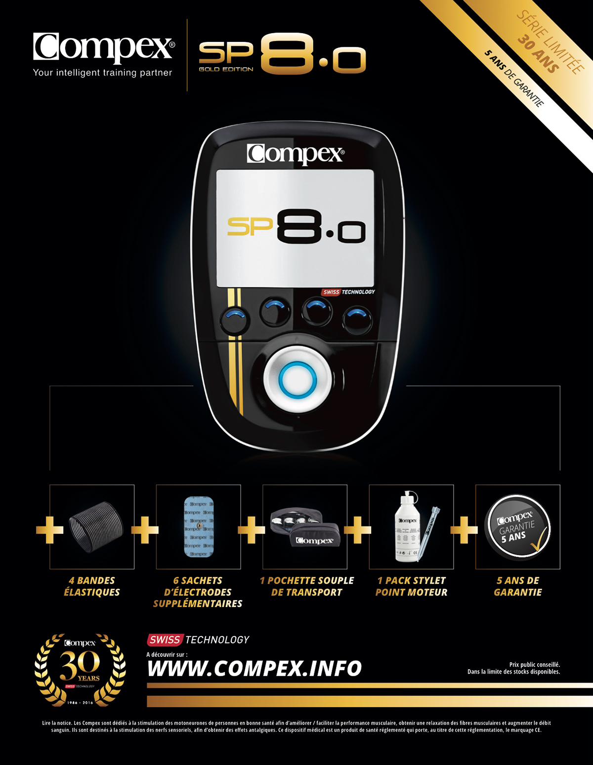 compex sp 8 0 gold edition ad france on behance. Black Bedroom Furniture Sets. Home Design Ideas