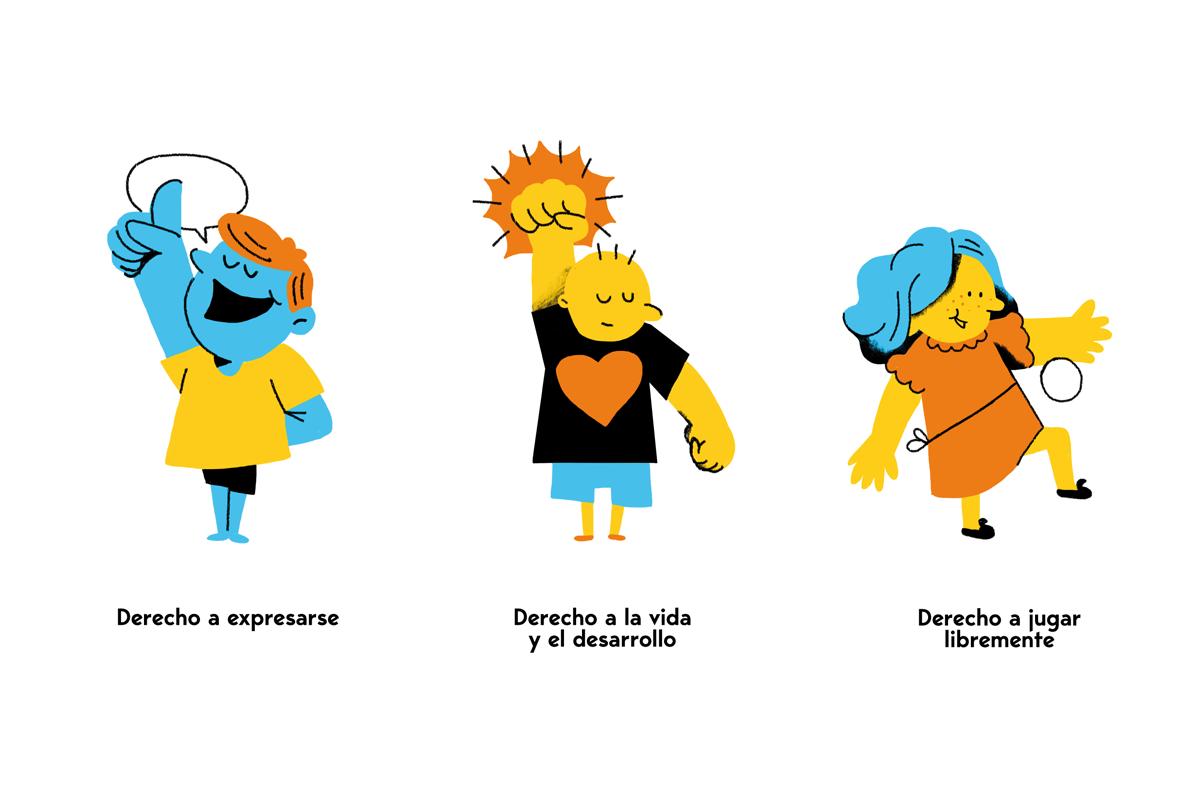 niños children ilustracion ILLUSTRATION