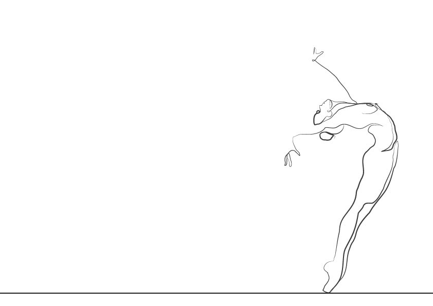 Line Drawing Dancer : Dancer line drawing on behance