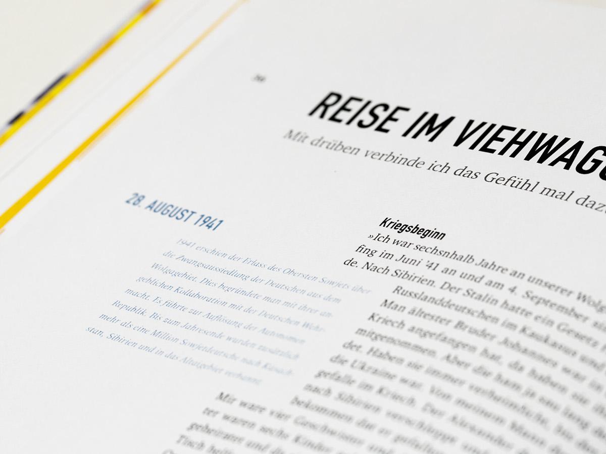 typography   Russlanddeutsche ILLUSTRATION