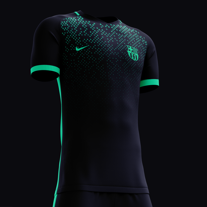 low priced d621d 2432d Barcelona third kit concept on Behance