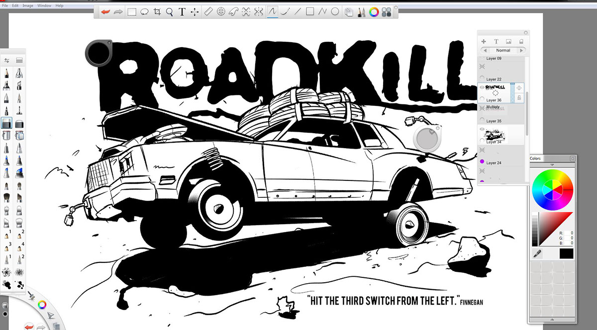 motortrend 39 s roadkill tshirt episode 39 on behance
