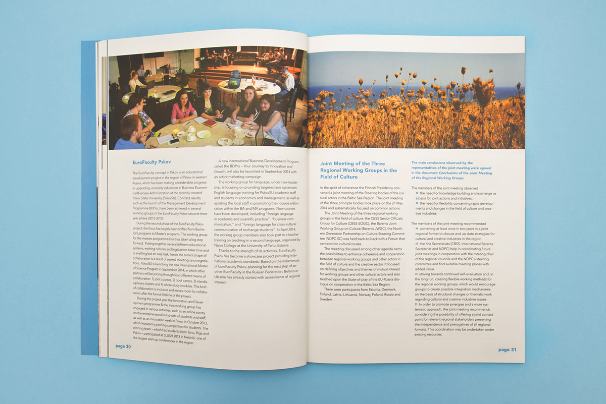 council Baltic sea states ANNUAL report Finnish Presidency print editorial